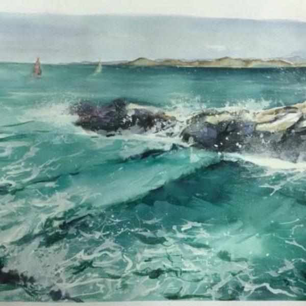Aquarelle Mer