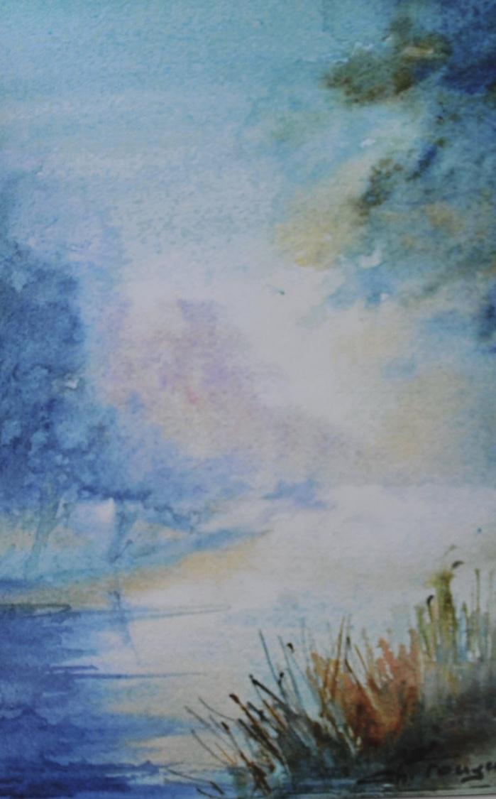 aquarelliste Christian Fougerand