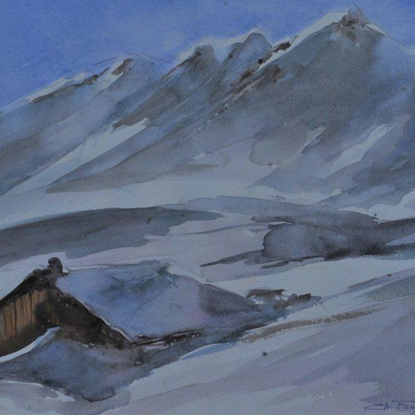 Chalet Perdu en Montagne